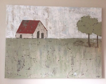 red roof barn II