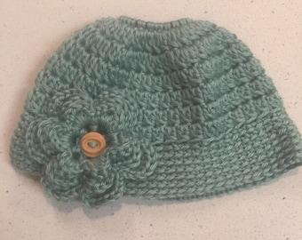Toddler/Child Messy Bun Hat