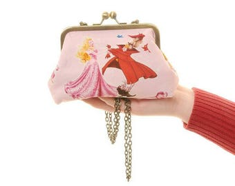 Disney Sleeping Beauty  Evening Bag and Clutch In One