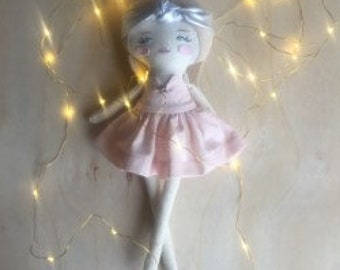 Marnie - Handcrafted Dress Up Doll