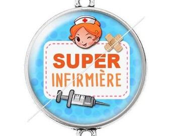 Large silver super nurse 15 connector