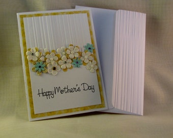 Mothers Day - white/embossed