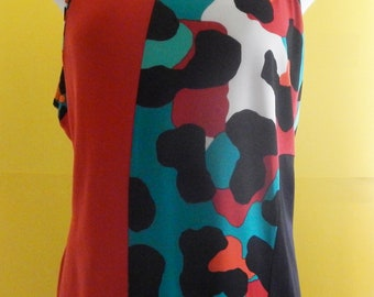 Graphic Animal Print Top reduced 20 percent