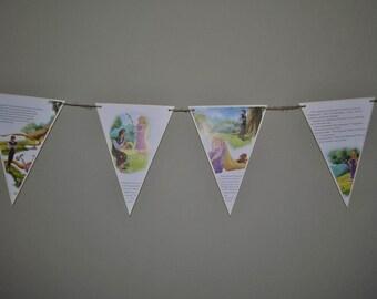Rapunzel Storybook Banner