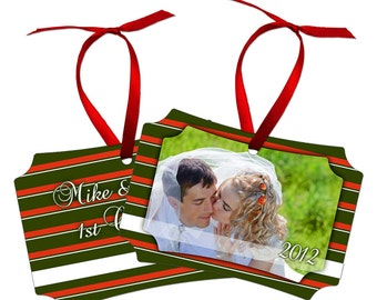 Full color ornament customized with your photoand  artwork
