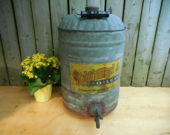 Antique National Oil Can by Neso Company 1900's