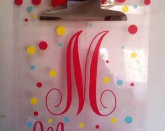 8 Personalized Clipboards-Great Teacher Gift