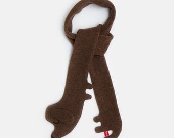 Sausage Dog Lambswool Scarf - Made to order