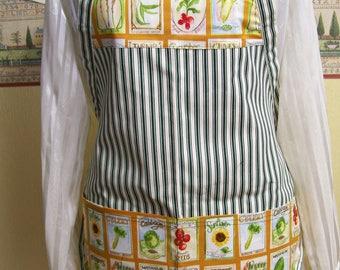 Apron - Two Pocket Bib apron