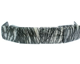 Picasso Marble Bead Strand