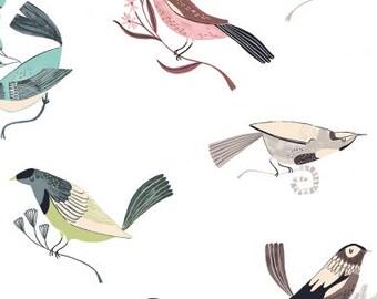 Fabric by the Yard--Perch-- From Dear Stella