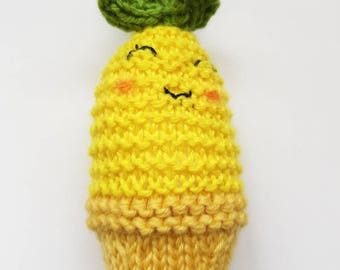 Pineapple Baby Rattle Toy - Baby Gift, Baby Toys, Nursery Decor!