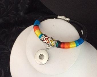 Snap Bracelet Set with 2 Buttons