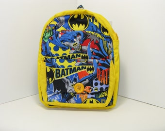 Batman PreSchool Backpack
