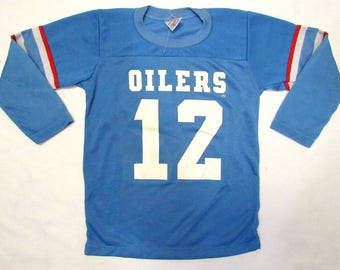 157db05fd SALE Houston Oilers Throwback Vintage 79 Childress Jersey