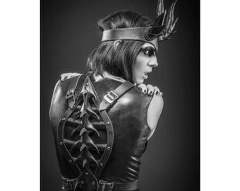 Leather Spine Harness