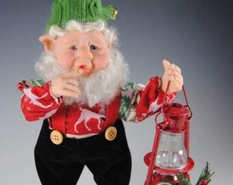"""Nisse/Tomte/ Handmade Elf/ """"Buster"""""""