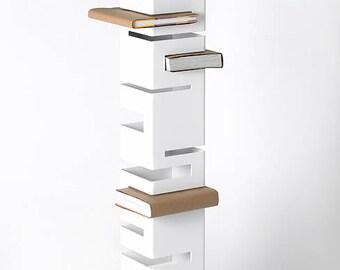 Vertical Steel Bookshelf