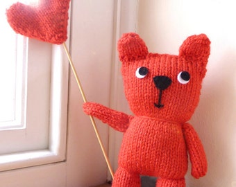 Teddy Bear Knit Kit - Craft Kit