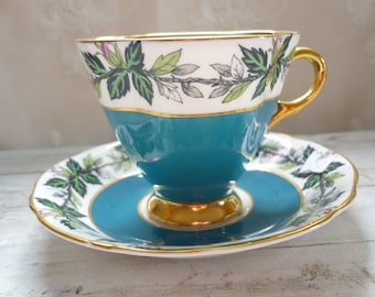 cups saucers fancy Windsor China, England dishes divinelolavintage, june, Cup, collection