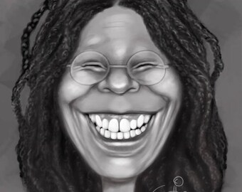 Digitature digital caricature