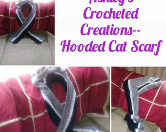 Hooded Cat Scarf