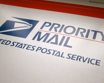 Priority Mail Shipping and Rush Order Upgrade