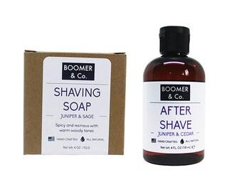 Juniper & Cedar Shaving Kit