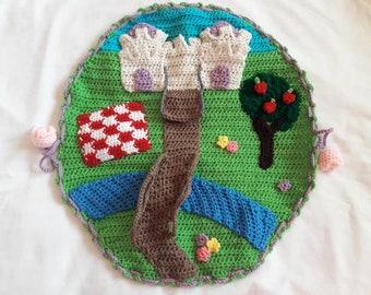 Crochet Princess PlaySet - PDF PATTERN ONLY