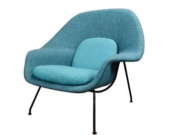 Vintage Mid Century Modern Womb Chair by Eero Saarinen for Knoll