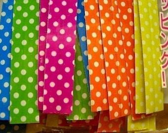 Cute Polka Dots twist ties (set of 40)