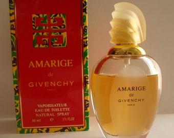 AMARIGE de Givenchy Paris Bottle 50ml Eau De Toilette Spray