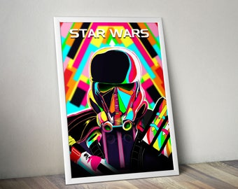 Star Wars Pop Art poster : Death Trooper