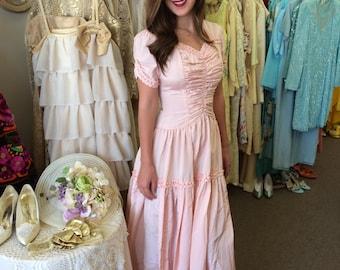 Vintage 1940 Bridesmaid dress