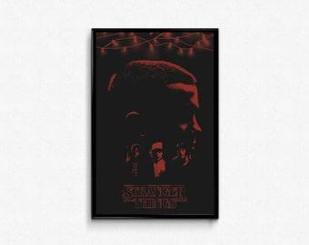 Stranger Things 11 x 17 Movie Poster