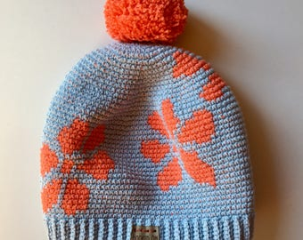 Hooked Floral Hat