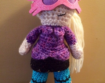Made to Order Luna Lovegood Harry Potter Inspired Amigurumi Doll