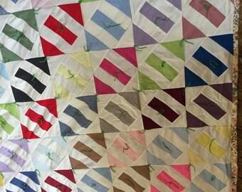 Eye Teaser hand made quilt