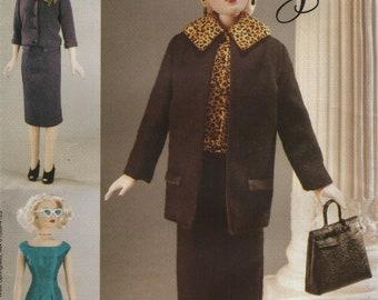 Vogue 704 GENE poupée vêtements rétro 1955 Ensemble © 1999 également publié comme Vogue 7223