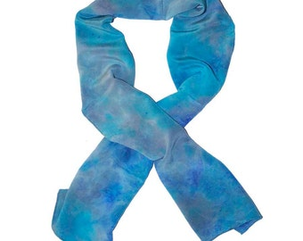 Silk Scarf: Deep Blue Sea