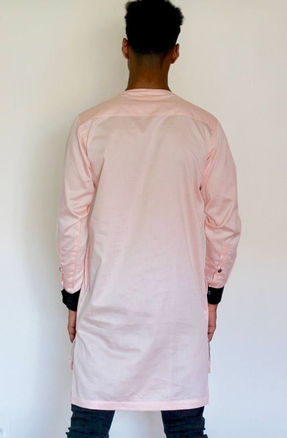 Off pink embroidered top by Christian Alaro CgwMuS7Zz