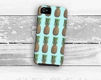 Pineapple iPhone 8 Case - iPhone 8 Plus Cover - iPhone 7 Case - Fruit iPhone 7 Plus Case - Food iPhone 6 Plus Case - iPhone 6s Case Retro
