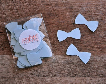 Little Man Party Decor. Handcrafted in 2-5 Business Days. Bow Tie confetti 50CT.