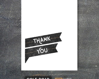 Thank You Card | Thank You | Greeting Card | Simple Thank You Card | Cards for Cancer | Thoughtful | Thanks