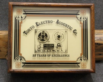 Teac 25 Years of Excellence Anniversary Wood Box Maintenance Kit with Demagnetizer