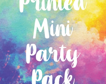 Printed Mini Party Pack