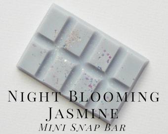 Soy Wax Melts, Night Blooming Jasmine, Scented Wax Tart, Soy Wax, Snap Bar, Soft, Floral