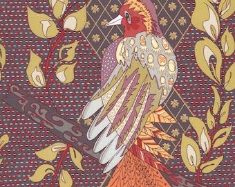 Ein Bummel durch Mind - persische Federn Gold - 1/2-yd