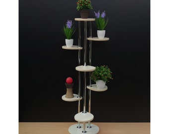 "Plant stand ""Florence"". Flower stand - Indoor plant stands - Plant holder Plant table - Stand for flowers - Flower shelf Shelf Rack Planter"