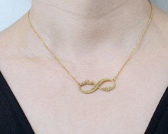 Arabic name necklace, arabian name necklace, arabian necklace, farsi name necklace, persian name necklace, arabic İnfinity necklace